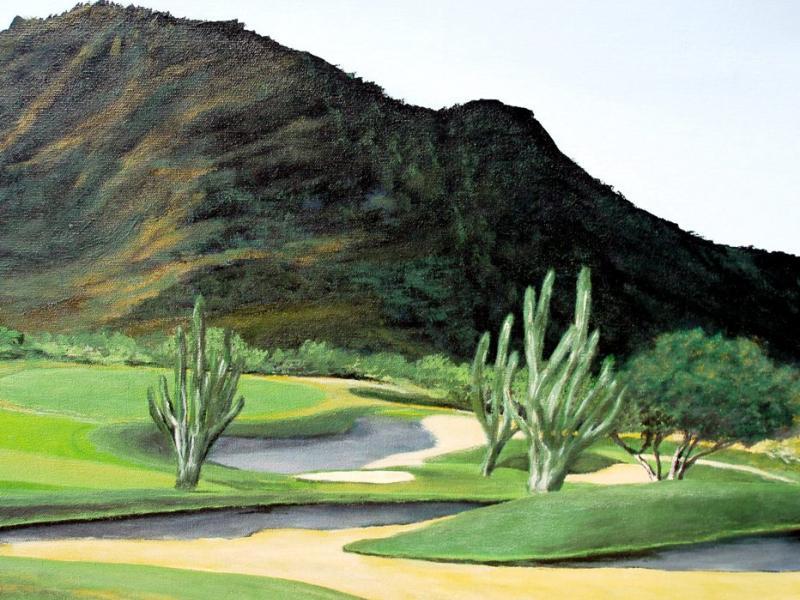 Golf-Kunst von Udo A. Heinrich: Bühne für das Spiel des Lebens